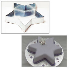 "Single Star 6"" Wedding Birthday Christmas cake tins - cake pans"