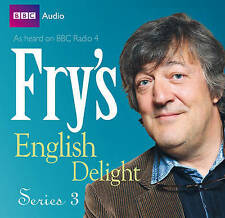 FRY'S ENGLISH DELIGHT - SERIES 3 - STEPHEN FRY - NEW/SEALED BBC AUDIO BOOK