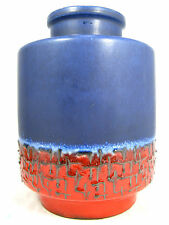 70´s Carstens Keramik pottery  vase 1264 - 25 in a beautiful colour combination