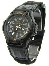 Casio FT500WV-1B Mens Black Forester Analog Sports Watch Cloth Band