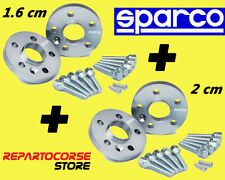 DISTANZIALI SPARCO 16 + 20 mm FIAT 500 ABARTH Esseesse 180cv