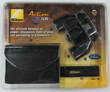 NEW Nikon Action 7x35 Binoculars 7499 Ultra Wide View + Case, Strap BaK-4 Prisms