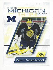 2013-14 Michigan Wolverines Zach Nagelvoort (Missouri Mavericks)
