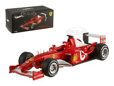 FERRARI F2003 M. SCHUMACHER ITALY GP 2003 ELITE EDITION 1/43 BY HOTWHEELS X5514