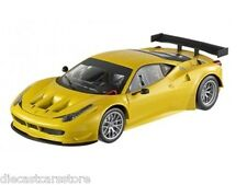 HOT WHEELS  FOUNDATION FERRARI 458 ITALIA GT2 YELLOW TRISTRATO 1/18 BCJ78