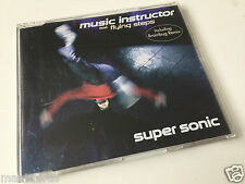 Music Instructor feat. Flying Steps - Super Sonic - Maxi CD Single