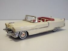 TIN WIZARD 1/43 CADILLAC SERIE 62 CONVERTIBLE 1955 WHITE, GERMANY HADMADE