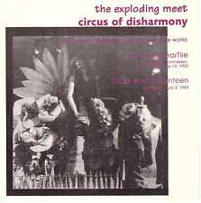 THE EXPLODING MEET Circus of Disharmony CD Obscure Canadian Ambient/Electronic