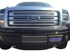 2011-2014 Ford F150 EcoBoost Lower Chrome Bumper Grille & Intercooler Protector