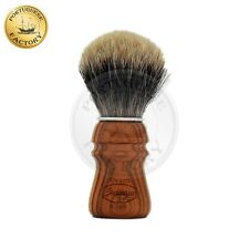 Semogue Owners Club (SOC) Two Band Badger Cherry Wood Shaving Brush