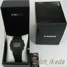 CASIO G-SHOCK DW-5600BB-1JF Solid Colores Black Mens Watch New in box from Japan