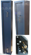 DEMO 1 Gun cabinet, 1 gun safe, shotgun, rifle safe, 2 x 7 lever key locks,