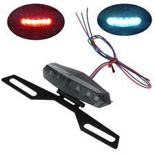 Motorcycle ATV 12V LED Indicator Holder Tail Brake License Plate Light Holder