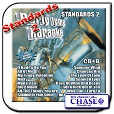 KARAOKE CD CDG CD+G DISC BACKING TRACKS SONG STANDARDS 2