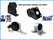 Super Auto Engine Motor And Trans Mount 4pc Kit For Nissan 02-06 Altima 2.5L S