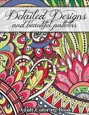 Detailed Designs and Beautiful pattern Coloring Books for Adults Paperback BC208