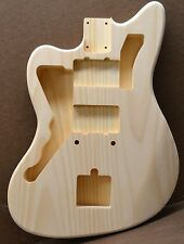 CUSTOM ORDER LEFTY JM UNFINISHED WHITE PINE GUITAR BODY FOR STRATOCASTER NECK