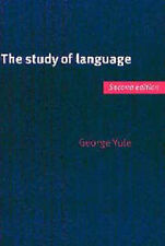The Study of Language by George Yule (Paperback, 1999)