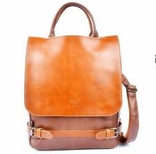 women girl Leather rucksack Backpack Rucksack Travel School backpack travel Bag