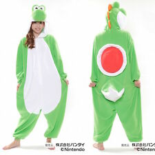 JAPANESE authentic nintendo YOSHI kigurumi onesie costume fleece fabric uni-sex