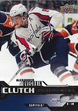 2007-08 ALEX OVECHKIN UPPER DECK CLUTCH PERFORMERS #CP-2