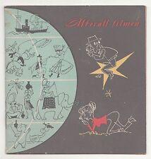 Werbe Broschüre Überall filmen AK 8 Pentaka 8 Weimar 2 Pentax 8 - 1959 DDR !