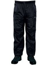 Regatta Xert Mens Waterproof Breathable Zip Off Over Trousers Black Size XXL