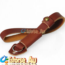 Camera Leather Wrist Strap For Canon Nikon Olympus Pentax Leica DSLR Brown