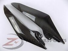 2008-2016 Yamaha R6 Gas Tank Side Trim Cover Fairing Panel 100% Carbon Fiber
