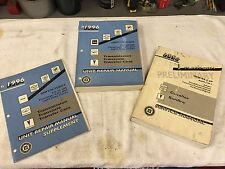 1996 Cavalier Sunfire Shop Service Manual Set