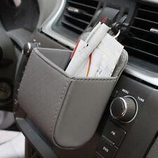 Universal KFZ Auto Organizer Getränkehalter Ablagebeutel Handy Tasche Grau