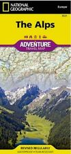 The Alps Adventure Travel Map National Geographic Waterproof