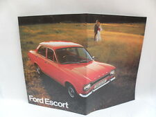 FORD ESCORT vecchia brochure auto car automobile