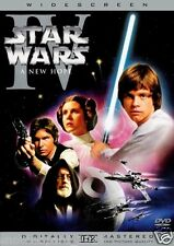 STAR WARS EPISODE 4 IV A NEW HOPE DVD Brand New and Sealed Original UK Release
