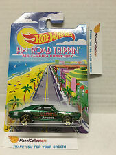 '69 Dodge Charger A1A Hwy * 2015 Hot Wheels Road Trippin Series * A26