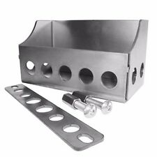 Custom UNASSEMBLED Motorcycle Battery Box Builder w/Hardware- Harley Chopper Bob