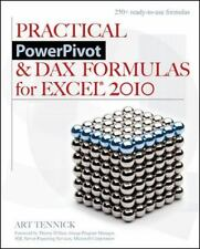 Practical PowerPivot & DAX Formulas for Excel 2010, Microsoft, Databases, Softwa