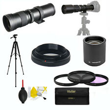 ZOOM LENS 420-800MM 840-1600MM FOR CANON EOS REBEL XT XS XTI XSI SL1 D6 D60 T5