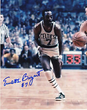 EMMETTE BRYANT  BOSTON CELTICS   ACTION SIGNED 8x10