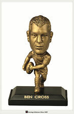 *2009 Select NRL LIMITED EDITION GOLD FIGURINE NO.22 Ben Cross (Knights)