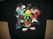 LRG vintage NOS Cartoon Characters Football Sweatshirt Disney Hanna Barbera USA