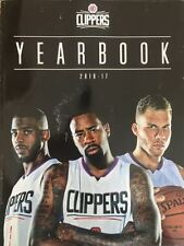 2016 2017 LA LOS ANGELES CLIPPERS YEARBOOK PROGRAM BASKETBALL NBA FINAL CHAMP?