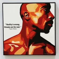 Tupac Shakur canvas quotes wall decals photo painting framed pop art poster