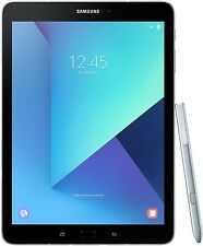 "Samsung Galaxy Tab S3 9.7"" 32GB Silver Tablet With S Pen - SM-T820NZSAXAR"