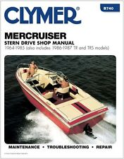 CLYMER MERCRUISER 470 INBOARD OUTBOARD I/O SERVICE REPAIR BOOK SHOP MANUAL 64-85