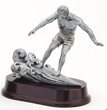 SURFING TROPHY Male Resin Sculpture Trophies FREE Engraving