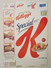 Kellogg's Cereal Box 12 oz SPECIAL K 1999