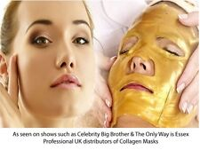 Crystal Gold Collagen Facial Face Mask Anti-Aging Moisturizing Skin Care