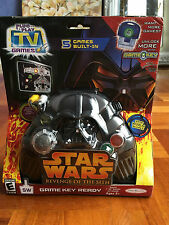 Star Wars Revenge Of The Sith Plug it in & Play TV Games 5 Built-In Game Key Toy