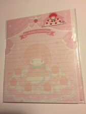 Sanrio Original Vintage Classic Letter Set My Melody Dessert Paper Strawberry